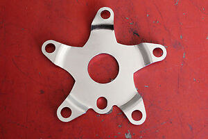 BMX spider 110 BCD 30mm center Chrome Steel