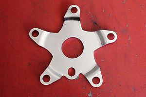 BMX spider 110 BCD 30mm center Chrome Steel