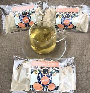 Scot's Pine Needle Tea & Orange Artisan Teabags X 10,Suramin,shikimic Acid,vit C