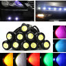 10Pcs 18mm/23mm LED Eagle Eye Licht Auto Nebel DRL Reverse Backup Single Lampe