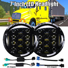 """7""""LED Projector Headlamps Headlights HID DRL for Kenworth T2000 T2000 Semi-truck"""