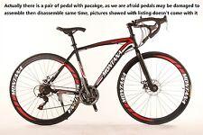 MONTANA Mountain Bike 21Speed 26 Inch/700CC SHIMANO TX30 Double Disc Brake Red