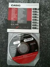 Casio EX-H5 CD Software And Basic Reference Manual Free UK Postage