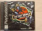 The Lost World: Jurassic Park 3D Cover PS1 (Sony PlayStation 1, 1997) Brand New!