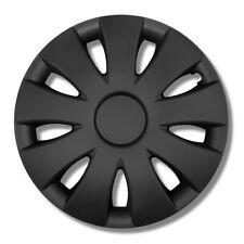 Radkappen 16 Zoll schwarz matt Radzierblenden 4 Stück 1 Satz VERSANDKOSTENFREI
