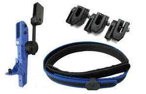 COMPLETE IPSC BELT, HOLSTER & 3 MAG POUCHES LEFT AND RIGHT HANDED HOLSTERS