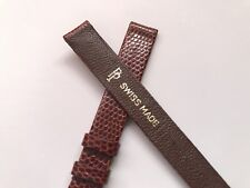 patek philippe light brown lizard watch strap 🇨🇭