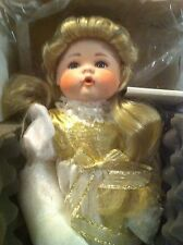 Morgan Brittany: Hope~Victorian porcelain Angel Doll:Choir-& Free Christmas Cd