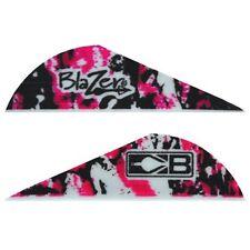 "New Bohning 36 Pack 2"" Pink Camo Blazer Vanes Arrow Fletching Vane Feathers"