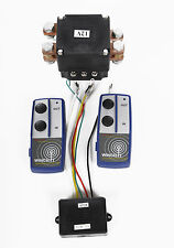 12V EXTRA HEAVY DUTY 500amp WINCH SOLENOID AND TWIN WIRELESS REMOTE