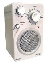 Denver Radio mit AUX und Kopfhörerausgang  TR-43C weiss - Verpackung beschädigt