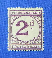1932 BECHUANALAND PROTECTORATE 2d SCOTT# J6c S.G.# D6a UNUSED            CS20494
