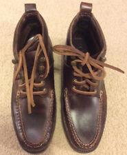 Orvis Mens Vintage Gokey Leather Chukka Ankle Boots Size 7 D Vibram Soles EUC