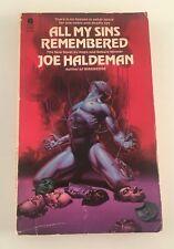 All My Sins Remembered by Joe Haldeman Vintage Sci Fi Avon Paperback 1978