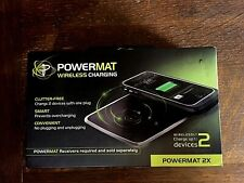 Powermat  2X wireless charger :  charges two devices  brand new !
