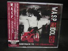 W.A.S.P. Reidolized-The Soundtrack To The Crimson Idol JAPAN 2CD + BLU-RAY