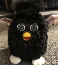 Vintage Furby Black 70-800 Tiger Electronics 1998 WORKS! TESTED! (No Box / Tags)