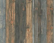 REALISTIC TEXTURED WOOD PANEL WALL EFFECT FEATURE WALLPAPER A.S.CREATION 9086-12