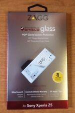 2 x genuino ZAGG Sony Xperia Z5 InvisibleShield Glass Protector Protector De Pantalla Hd