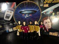 Star Trek USS Enterprise NCC-1701-D Mini Porcelain Plate what action figure lot