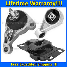 1819 Motor & Trans Mount 3pc set for 2002-2003 Ford Focus SVT 2.0L