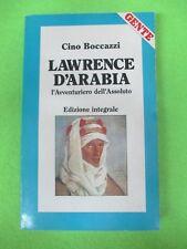 BOOK LIBRO LAWRENCE D'ARABIA Cino Boccazzi allegato GENTE 1989 (L52)
