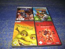 PC SPIELE BUNDLE Disney  Shrek + Ratatouille + Hecke PC und mehr