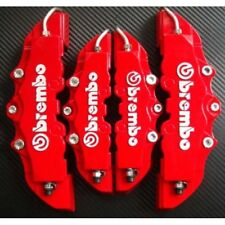 CACHES ÉTRIER LOGO BREMBO COLORIS AU CHOIX STYLE AUTO TUNING RACING RALLYE ...