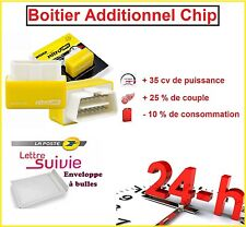 BOITIER ADDITIONNEL CHIP OBD2 TUNING ESSENCE LANCIA MUSA 1.4 1L4 Fire 8V 78 CV