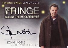 Fringe Season 3 & 4 John Noble as Walter Bishop A3 Auto Card
