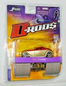 JADA TOYS D-RODS 1934 FORD COLLECTOR #18
