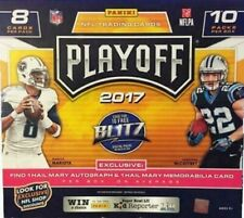 2017 PANINI PLAYOFF FOOTBALL MEGA BOX NEW FACTORY SEALED