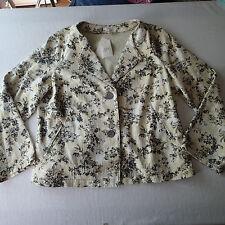 j.jill BLAZER, Ladies SUIT Jacket,SZ XL p ,floral   a4