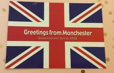 Manchester Commonwealth Games 2002 Postcard