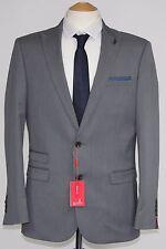Men's 6th SENS, 2pc tissu gris intérêt Costume (40R)... échantillon 354