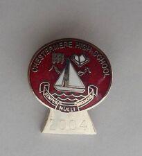 Chestermere HIgh School Calgary Alberta Canada Lapel Souvenir Pin