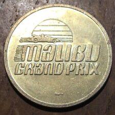 JETON TOKEN NO CASH VALUE MALIBU GRAND PRIX (522)