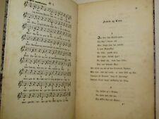 MUSICA - J.L. Heiberg: GADEVISER Tekster og Melodier Nr. 1-7 1849 Copenhagen