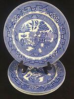 "W Ridgway England Semi China 9"" Dinner Plates - Set of 4"