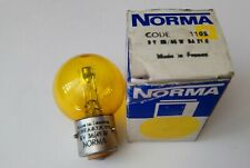 2 X AMPOULE FEU AVANT VELO JAUNE *NORMA* Sphere 15mm 6V 2.4W *NOS*