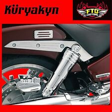 Kuryakyn Chrome Rear Shock Top Cover for Honda Models 8261