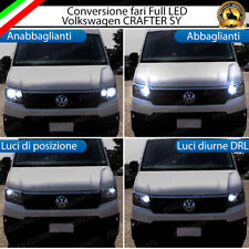 CONVERSIONE FARI FULL LED VOLKSWAGEN CRAFTER SY BIANCO LED CANBUS 18800 LUMEN