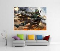 STAR WARS BOBA FETT GIANT WALL ART PICTURE PHOTO POSTER