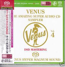 Venus Records The Amazing Super Audio CD Sampler Vol.4 Audiophile DSD SACD Japan