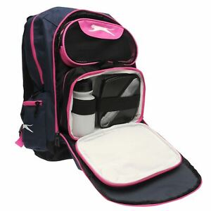 Slazenger Back Pack Inc L Box Travel Luggage Everyday Casual Bag Accessories