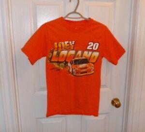 Joey Logano 20 NASCAR Orange T Shirt Size SMALL 100% cotton the HOME DEPOT