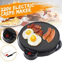 Electric Crepe Maker Pancake Maker Non-Stick Utensils DIY Home Spatula Kitchen