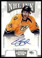 2013-14 Panini Contenders NHL Ink Craig Smith RC Auto . #I-CSM