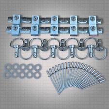 10 x NDZ1 Schnellverschluss Set Motorrad Niet Verkleidung DZUS Fastener Nieten
