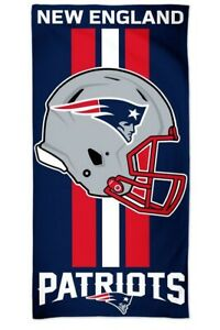 New England Patriots NFL Calcio Telo Mare Asciugamano da Bagno Spiaggia Casco
